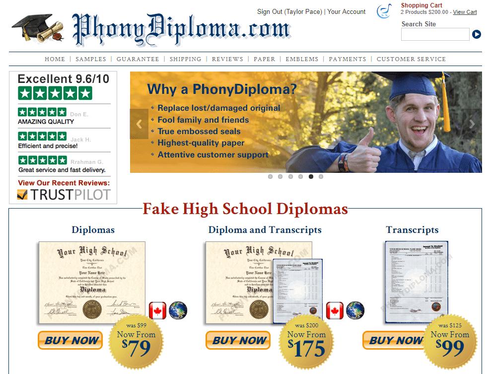 Phonydiploma.com